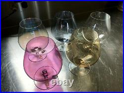 RIEDEL RARE Claus JR + Swarovski Mid Century Brandy Cognac Snifter Glasses
