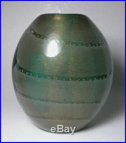 Rare BARBINI Italian Art Glass SFUMATO Vase V. A. M. S. A. Mid Century Modern