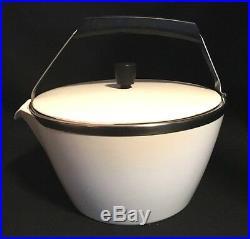 Rare! MID Century Modern Corning Cookmate Teapot 1 3/4 Qt Vintage Mint! M