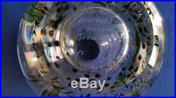 Rare Orrefors Edward Hald Seahorse &Fish Graal Vase Mid Century