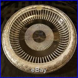Rene Lalique Marguerites Daisy Centerpiece Bowl 13 Vintage, Mid Century Signed
