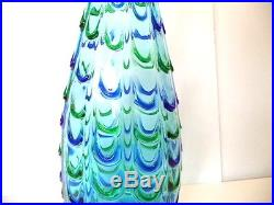 Seguso or Barovier & Toso Mid Century Murano Lamp Base