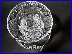 Set 6 Midcentury IITTALA Finland SENATOR Champagne MARTINI Goblet TIMO SARPANEVA