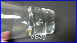 Set/9 Vintage Mid-century High Ball / Liquor Glasses, Controlled Bubble