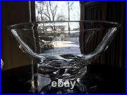 Steuben Glass Mid Century Spiral Bowl / #8060 Donald Pollard 1954 $700Nw