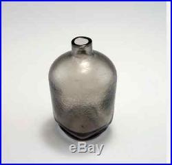 Stunning corroso flask bottle Murano Orrefors Scarpa Mid century glass