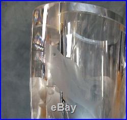 Superb Scandinavian MID Century Ernest Gordon Designed Afors Glass Vase Shark