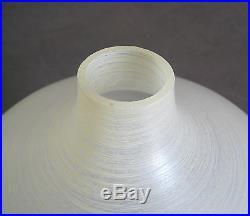 Teak Deckenleuchte 60er 70er Jahre Mid Century Lamp Danish Design Wood Glass