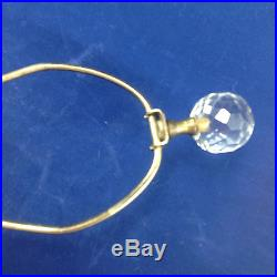Tiffin Glass Table Lamp Mid Century Mod Custom Made Blanks Museum Verified