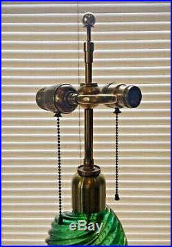 VENINI MURANO LAMP 1930s. Carlo Scarpa Gio Ponti Barovier Seguso Mid Century