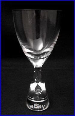 VINTAGE HOLMEGAARD PRINCESS CRYSTAL 4oz WINE GLASS MID CENTURY DANISH BOXED
