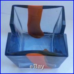 Venini Pierre Cardin Murano Glass MID Century Ash Tray 1960's Signed Rare