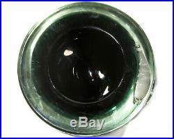 Vintage Blenko Glass Fish Medallion Bowl Wayne Husted Rare MID Century Modern