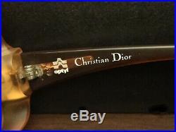 Vintage Christian Dior Glasses Frames 60-70's Made in Austria Mid Century Modern