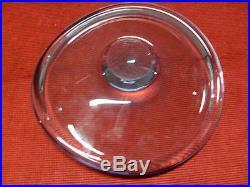 Vintage Holmegaard Per Lutken Freeform Aqua Blue Bowl MID Century Modern