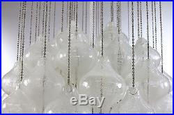 Vintage J. T. Kalmar Tulipan Glass Chandelier 1950's Mid Century Modern