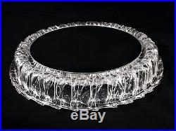 Vintage Lighted Wall Mirror Ice Glass Acrylic Kalmar Mid-Century Modern 1970s