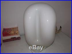 Vintage MID Century Modern Vistosi Murano Lamp Art Glass Sculpture Rare 1970