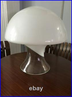 Vintage Mid-Century Modern MCM Gino Vistosi Murano Glass Mushroom Table Lamp