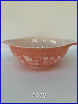 Vintage Mid Century Set 4 Pyrex Pink Gooseberry Cinderella Nesting Mixing Bowls
