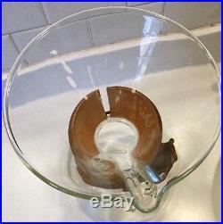 Vintage Pyrex Chemex Mid Century Glass Coffee Maker Carafe Cork Collar