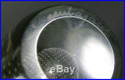 Vtg Mid Century Nuutajarvi Notsjo Art Glass Controlled Bubble Gunnel Nyman Vase