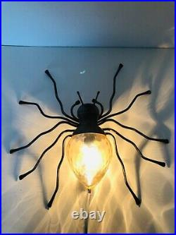 Wall Lamp Spider Mid Century Modern Italy 1960s
