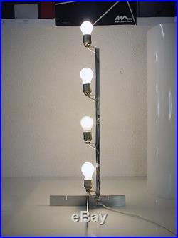 White plexi glass 1960's FLOOR LAMP by Paul Mayen for HABITAT