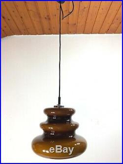 XL Peill Putzler Pop Art Chandelier Space Age Pendant Lamp Murano Er Mid Century